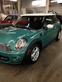 2012 Mini Cooper finished
