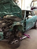 2012 Mini Cooper wrecked