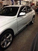 2013 BMW 323i in need of 2 doors.