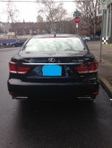Lexus LS460L after repair.