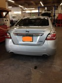 Nissan Altima rear ended
