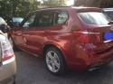 finished BMW X3