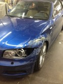 BMW 135i before photo