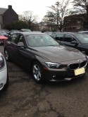 BMW 320i finished