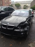 wrecked 328xi