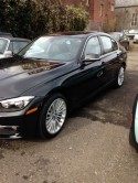 BMW 328xi finished