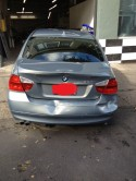 BMW 328i wrecked