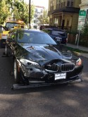 BMW 528i wrecked