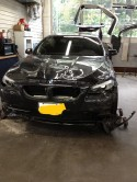 BMW 550I BEFORE PHOTO