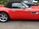 BMW Z8 AFTER GETTING A DOOR