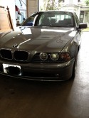 BMW 530i repair after photos