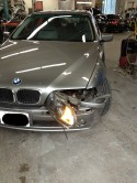 BMW 530i before repairs