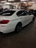 BMW M5 after repairs.