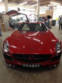 SLS AMG Mercedes in for carbon fiber kit